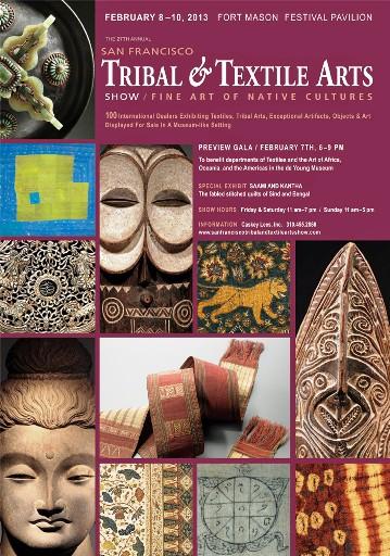 Tribal & Textile Arts-San Francisco