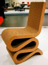 frankgehry wiggle chair