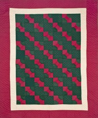 Bowties, c. 1930, Ohio, Cotton, 82.5 x 68.