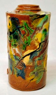 Pottery by Jeff Boswell.