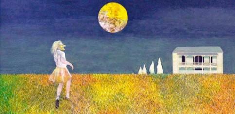 """""""Halloween"""" by Carroll Cloar."""