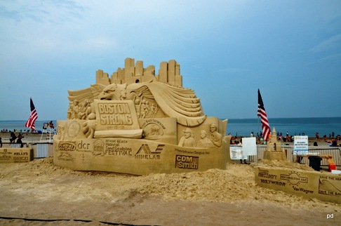 Revere MA Sand Festival