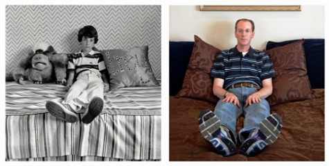 """Trey in his bedroom"", negatives 1978 and 2012, prints 2013 and 2015, pigment prints, by Gay Block."