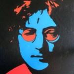 """""""John Lennon Pop Art"""", acrylic, canvas, 16 x 20 inches, by Terry Barnhart."""