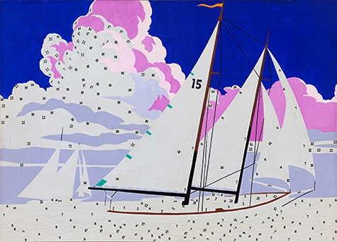 Andy Warhol, Do It Yourself (Sailboat), 1962, © The Andy Warhol Foundation for the Visual Arts, Inc.