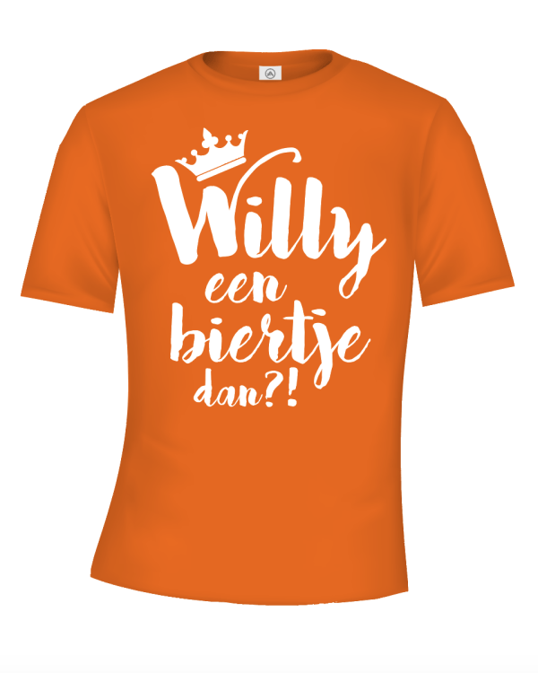 Willy een biertje dan