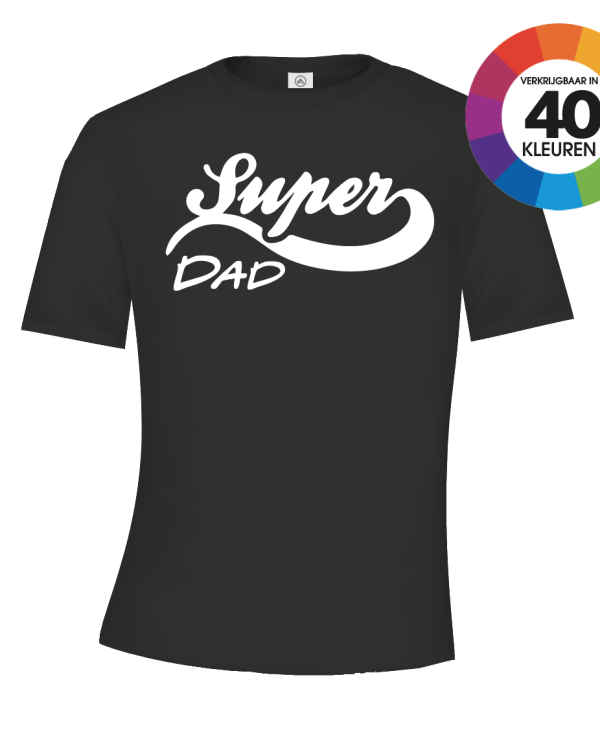 Super Dad Logo t-shirt