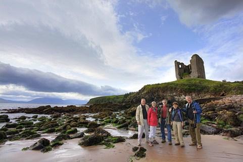 The photographers @ Minard Castle