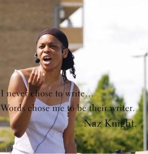 Naz Knight Spoken Word Artist