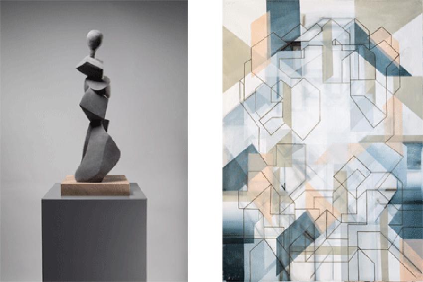 Doppelausstellung Doris Becker-Galantay (Objekte) – Matthias Spiess (Bilder)