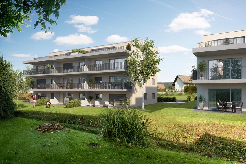 """Bezug der Wohnüberbauung """"Zilbächli"""" in Erlinsbach"""