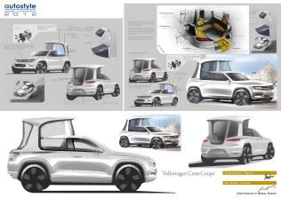 Концепт папмобиля от Volkswagen - Cross Coupe