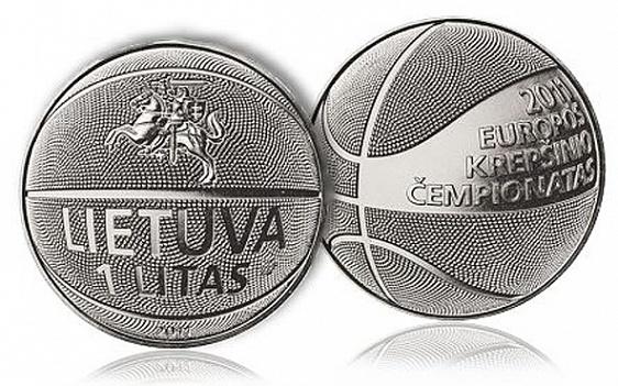 Медно-никелевый лит в форме баскетбольного мяча. Лучшая среди монет, приспособленных для торговли