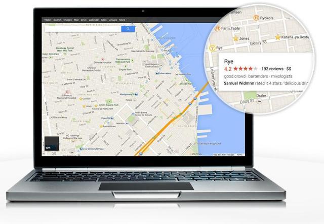 Новые Google Карты