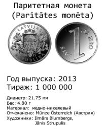 Паритетная монета