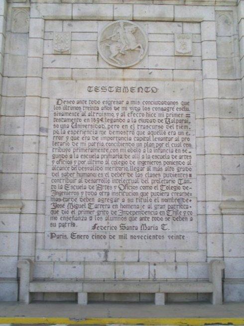 Testamento de Federico Santa María