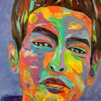 "Elmer. Oil painting 30""X24"""
