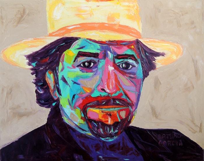 "Y sin embargo. Oil painting 30""X24"""