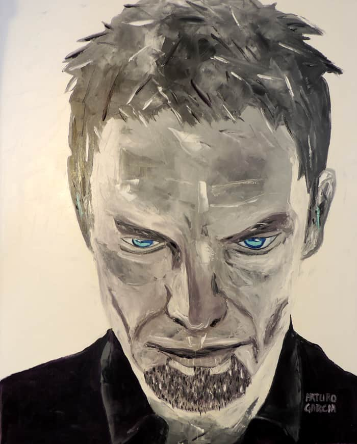 "Sting. Oil painting 30""X24"""