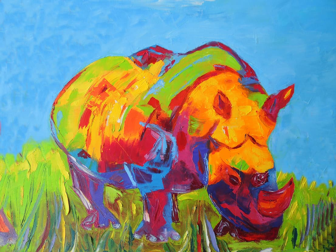 Blue Rhino. Oil. NAFS.