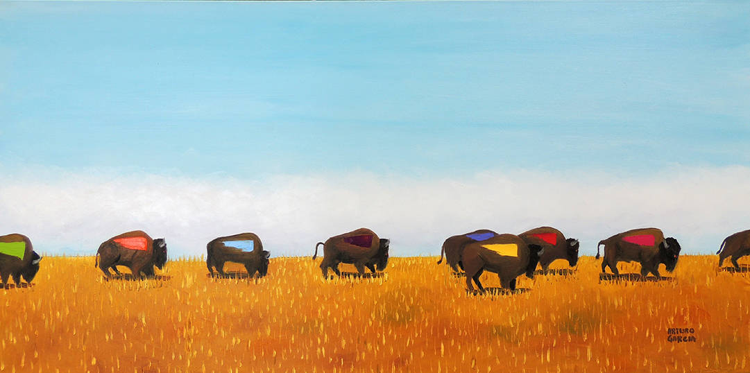 """Amazing Grace. Oil. 24""""X48"""". Available."""