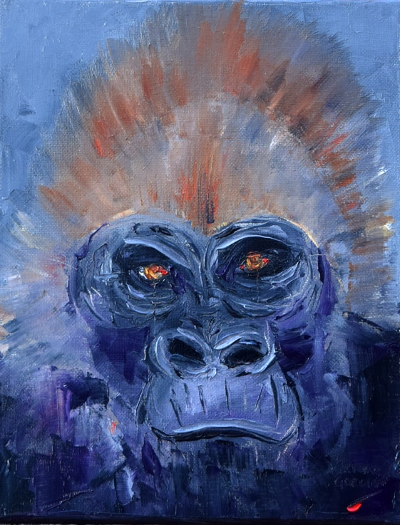 "Koko. Oil. 10""X8"" Available"