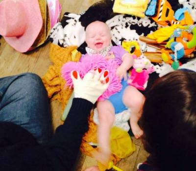creative play sessions for babies in middlesborough