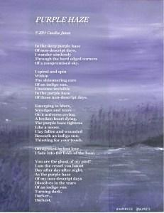 Purple Haze poetograph