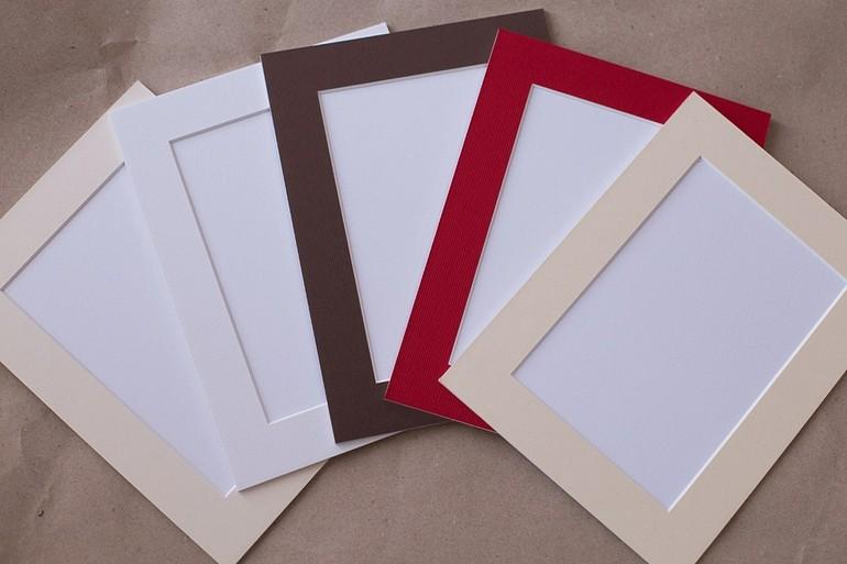 Comme il est facile de fabriquer un tapis pour une image et un panneau, photo numéro 4