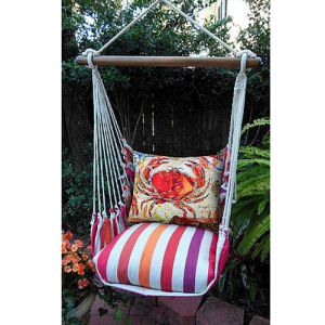 Red Crab Swing Chair