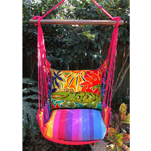 Alligator-Rope-Swing-Chair