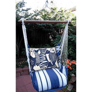 Blue-Fish-Rope-Swing-Chair