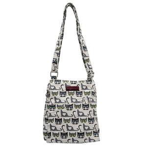 Cat Bungalow 360 Small Messenger Bag