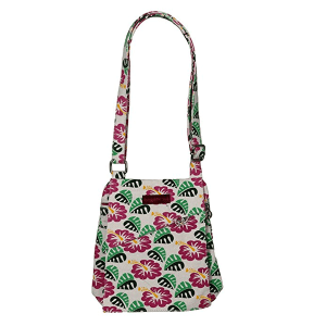 Hibiscus Flowers Bungalow 360 Small Messenger Bag