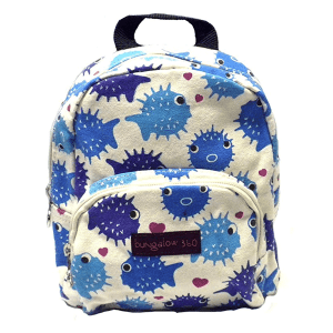 Puffer Fish Bungalow 360 Mini Backpack