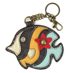 Tropical Fish Keychain Coin Purse