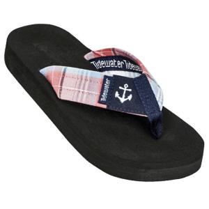 Madras Anchor Flip Flops