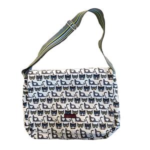 Cat Bungalow 360 Large Flap Messenger Bag