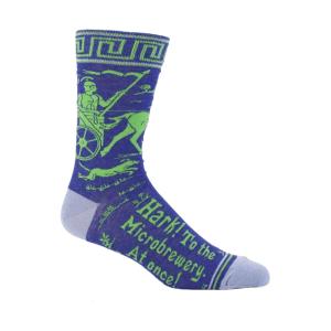Mens Socks - Hark To The Microbrewery