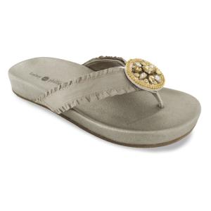 Lindsay Phillips Bernie Platinum Sandals