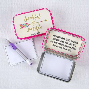 Thankful and Grateful Prayer Box