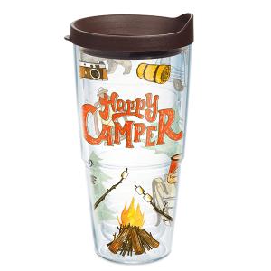 Happy Camper Tervis Tumbler