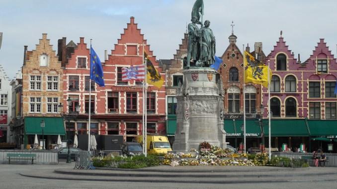 Markt Bruges, Belgium