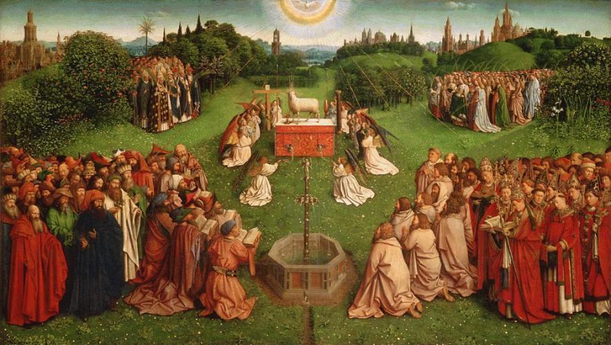 Adoration-of-the-Mystic-Lamb-Van-Eyck