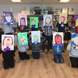 Schilderen à la Picasso