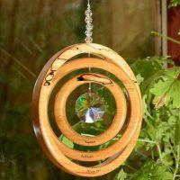 Persoanlised 3 Ring Suncatcher