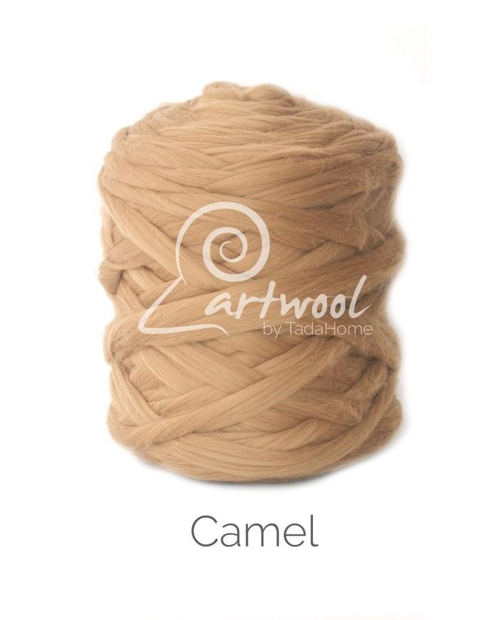camel Merino Wool Chunky Yarn