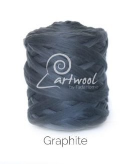 Graphite Merino Wool Chunky Yarn