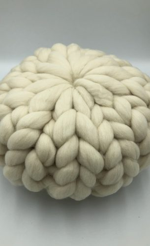 Natural Merino Wool Cushion