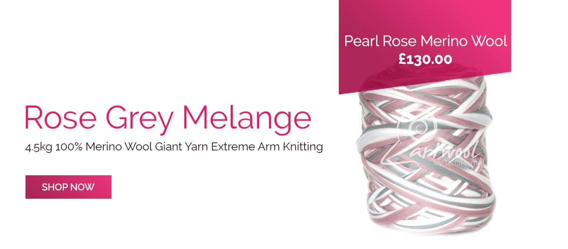 4.5kg Pearl Rose Melange Art Wool